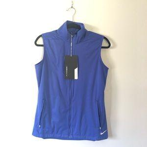 Nike royal blue golf vest
